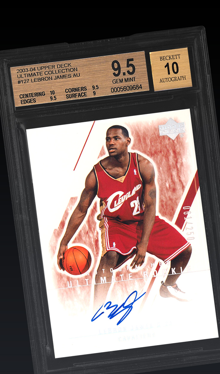 LeBron James, '03 Ultimate BGS 9.5
