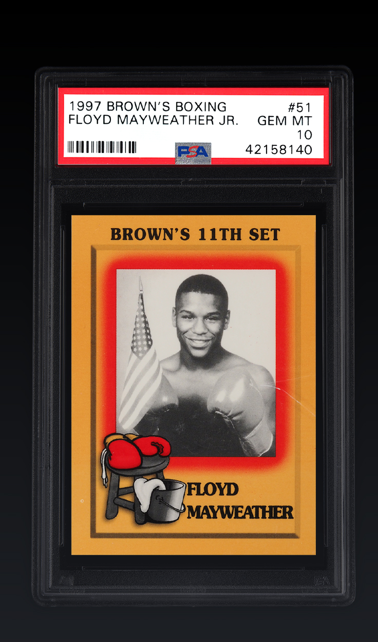 Floyd Mayweather, 1997 Brown's Boxing RC